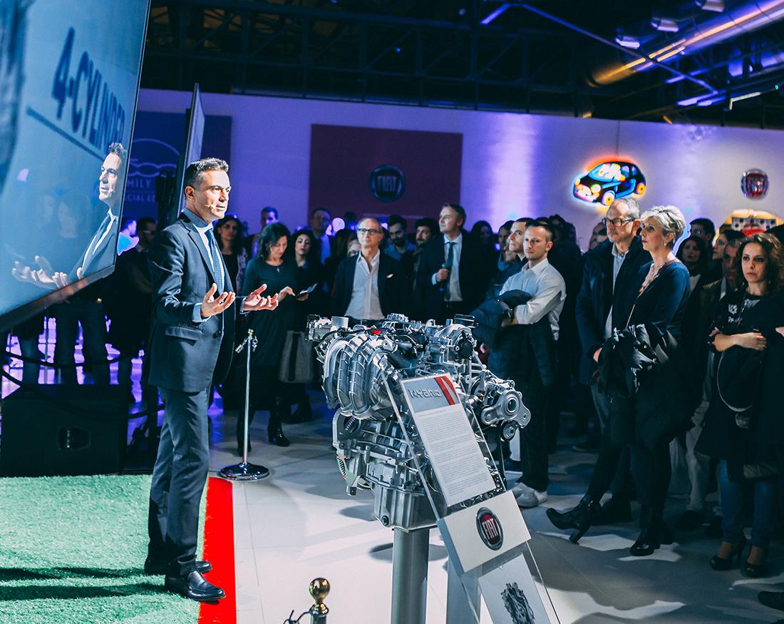 Claudio Bellosta portfolio Fiat presentazione