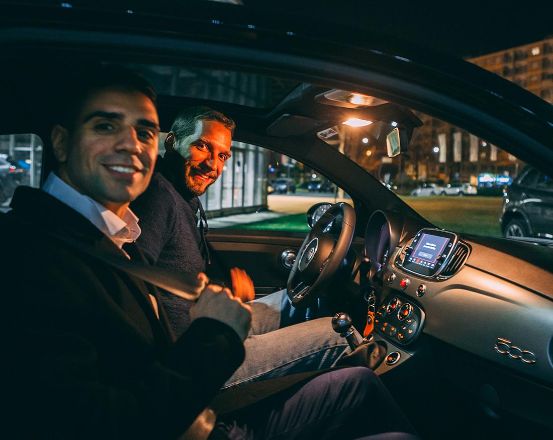 Claudio Bellosta portfolio Fiat test drive