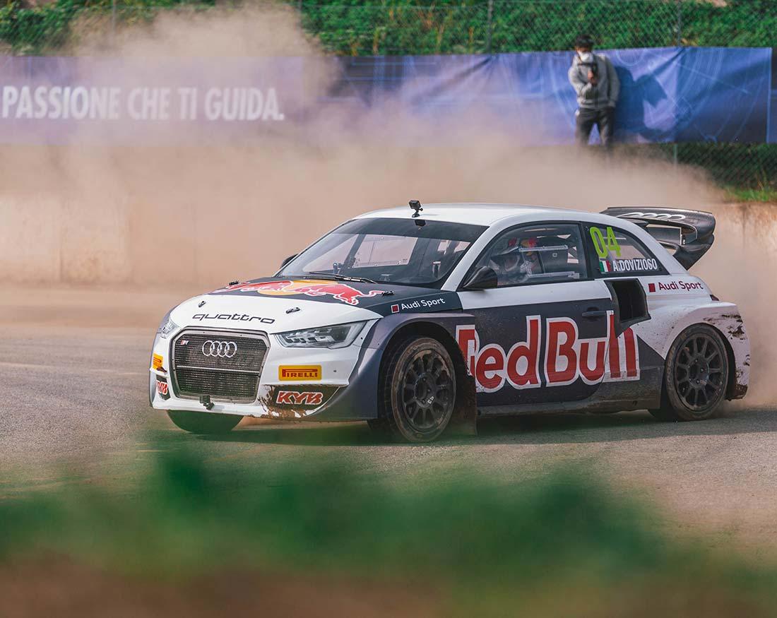 Red-Bull-Andrea-Dovizioso-con-Audi-portfolio-Claudio-Bellosta-Studio